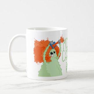 都市モンスターの朝は荒い場合もあります コーヒーマグカップ
