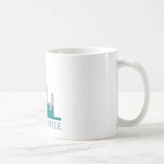 都市ライフスタイル コーヒーマグカップ