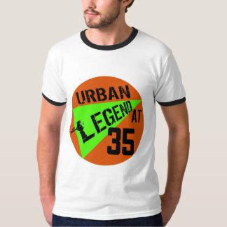 都市伝説の第35誕生日プレゼント Tシャツ