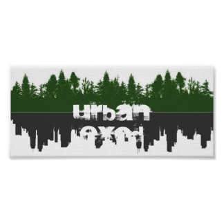 都市出国-鏡ポスター ポスター
