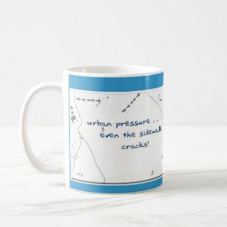 都市圧力 コーヒーマグカップ