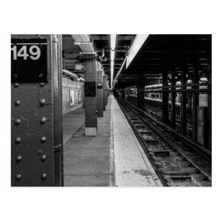 都市地下鉄の写真 ポストカード