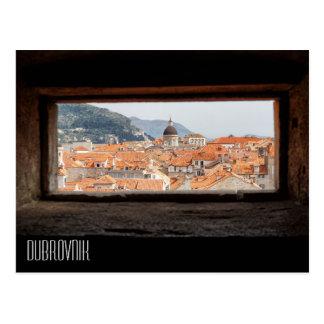 都市壁からのドゥブロブニク ポストカード