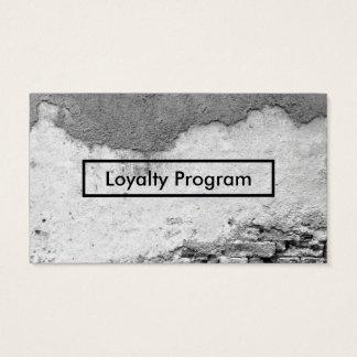都市壁のロイヤリティプログラム 名刺