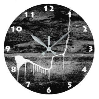 都市壁(ロンドン)の柱時計 ラージ壁時計
