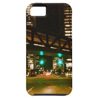 都市夜ライト iPhone SE/5/5s ケース