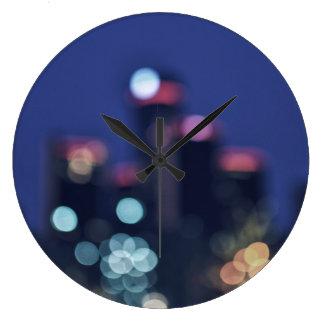 都市夜時計 ラージ壁時計