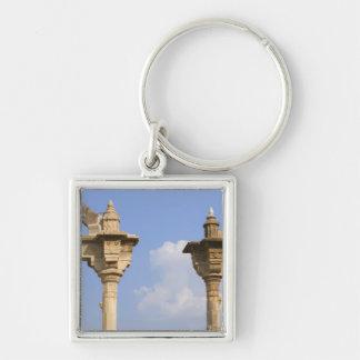 都市宮殿、Udaipur、ラージャスターン州、インド2 キーホルダー