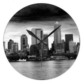 都市時計 ラージ壁時計