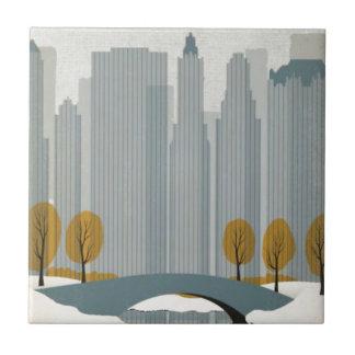 都市景観の芸術 正方形タイル小