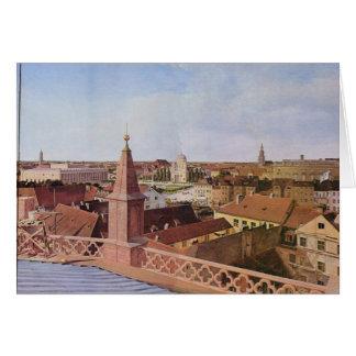 都市景観- Eduard Gaertner カード