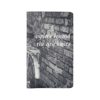 """""""都市生活""""シリーズ1% pipe%大きい詰め替え式のノート ラージMoleskineノートブック"""
