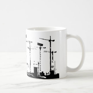 都市監視 コーヒーマグカップ