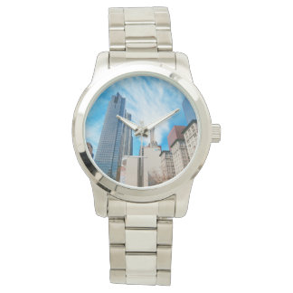 都市眺めのロサンゼルスの腕時計 腕時計