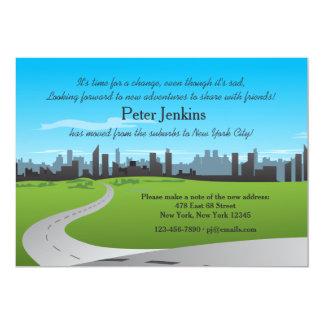 都市移動発表への移動 カード