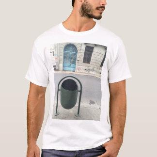 都市通り場面 Tシャツ