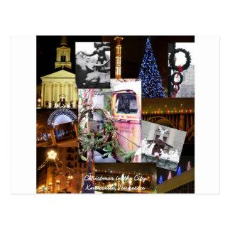 都市郵便はがきKnoxville、Tennessのクリスマス ポストカード