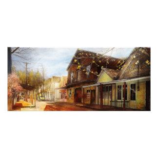 都市-カリフォルニア- Downieville 1933年の町 ラックカード