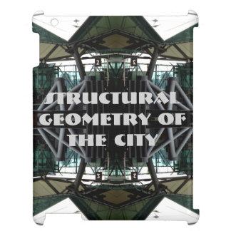 都市CricketDianeのiPadの場合のモダンで幾何学的な都市 iPad Case