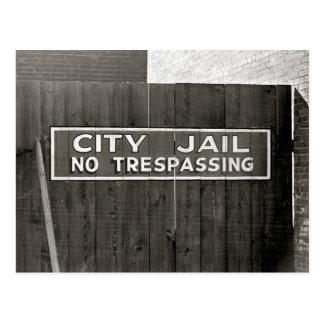 都市Jail 1939年 ポストカード