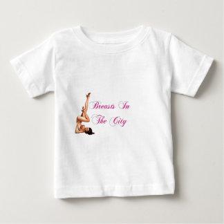 都市Pinの胸 ベビーTシャツ