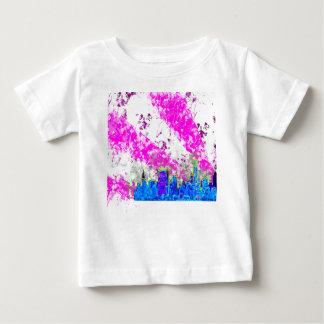 都市skyline.png ベビーTシャツ