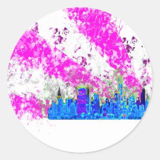 都市skyline.png ラウンドシール