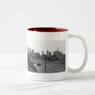 都心のカンザスシティ ツートーンマグカップ
