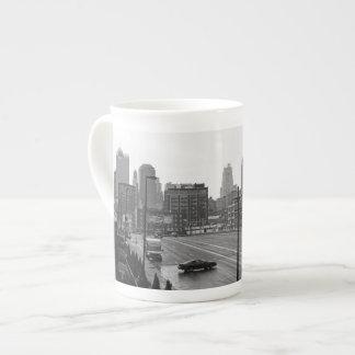 都心のカンザスシティ ボーンチャイナカップ