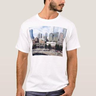 都心のシアトル Tシャツ