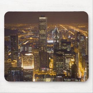 都心のシカゴの都市景観 マウスパッド