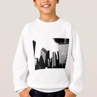 都心のシカゴ スウェットシャツ