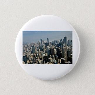 都心のシカゴ 5.7CM 丸型バッジ
