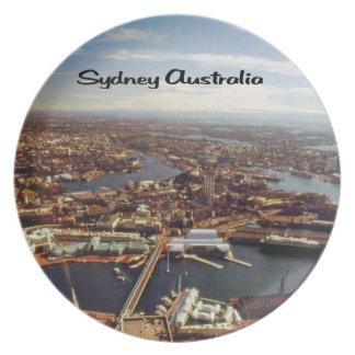 都心のシドニー プレート