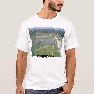 都心のシンガポール Tシャツ