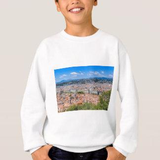 都心のニース、フランス スウェットシャツ