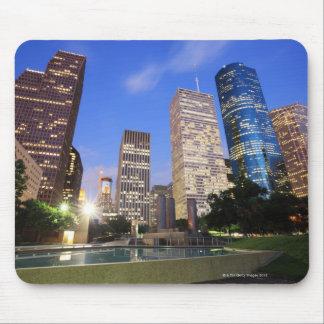 都心のヒューストン、テキサス州 マウスパッド