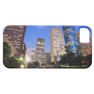 都心のヒューストン、テキサス州 iPhone SE/5/5s ケース
