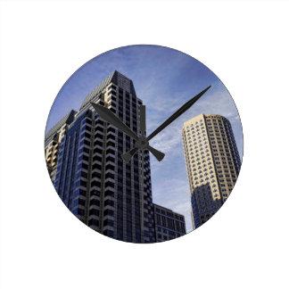 都心のボストンの建築 ラウンド壁時計