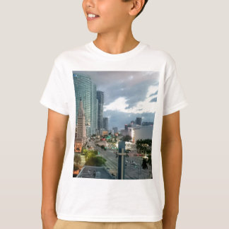 都心のマイアミ Tシャツ