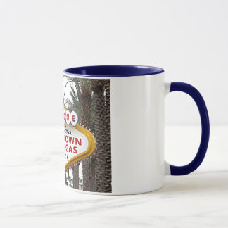 都心のラスベガスの印のマグ マグカップ