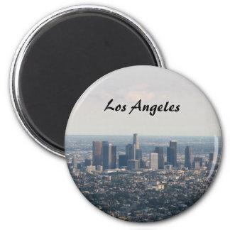 都心のロサンゼルスの眺め マグネット