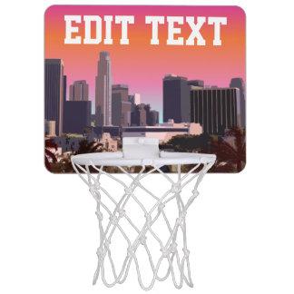 都心のロサンゼルス-カスタマイズ可能なイメージ ミニバスケットボールネット