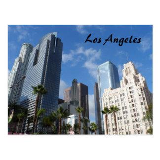 都心のロサンゼルス ポストカード