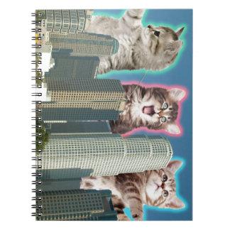 都心の猫 ノートブック