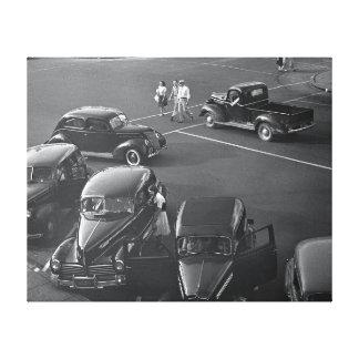 都心の車1942年 キャンバスプリント