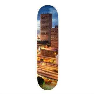 都心の都市眺め 20.6CM スケートボードデッキ