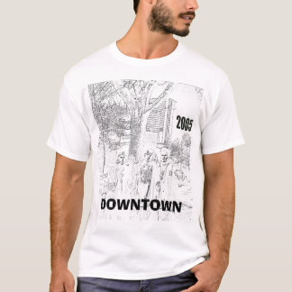 都心のdowntownwhat tシャツ