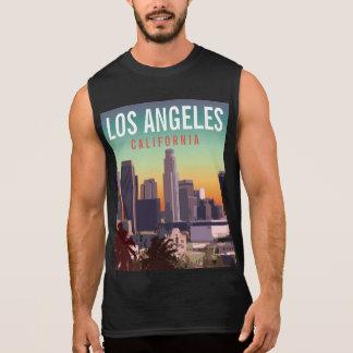 都心のL.A. 袖なしシャツ