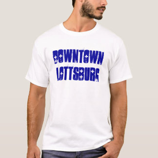 都心のLOTTSBURG Tシャツ